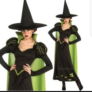 Wicked Witch Wizard of Oz Costume 75th Ann Ed
